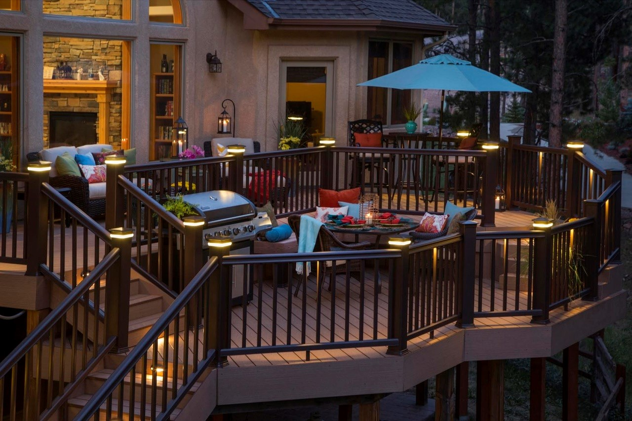 Deck Design Ideas Brighten Up Your